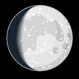 Luna ultimo quarto